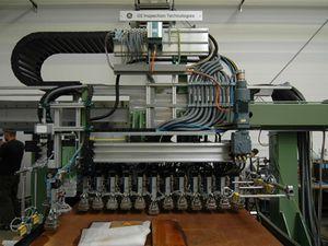 système d'inspection à ultrasons / automatisé / pour tube soudé