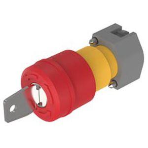 interrupteur coup de poing / à clé / unipolaire / non lumineux