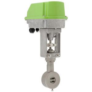 vanne à glissière / à commande électrique / d'arrêt / de régulation
