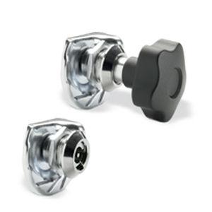 loquet à came / à levier / en acier / en zinc
