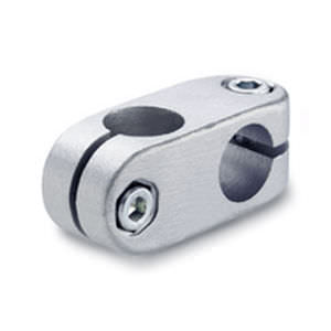 connecteur de tube en croix / aluminium / en inox