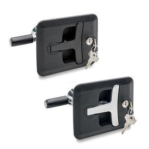 loquet à clé / en acier / en zinc / en acier zingué