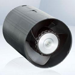 ventilateur pour l'électronique / axial / pour gaine tubulaire / en ligne