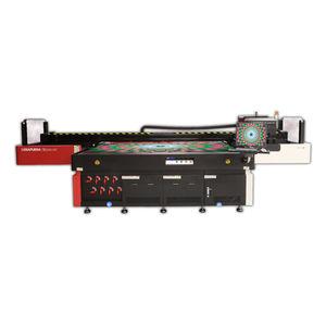machine d'impression à jet d'encre UV / à 6 couleurs / pour matières plastiques / pour bois