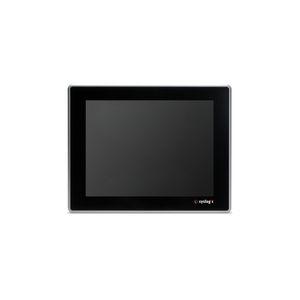 moniteur LCD / à écran tactile capacitif / rétroéclairage à LED / 15