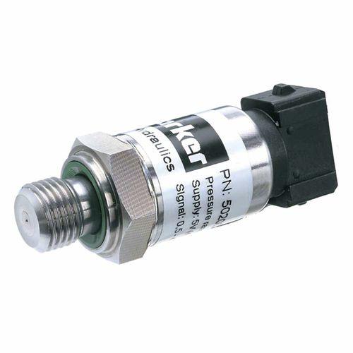 capteur de pression relative / à couche mince / fileté / en acier inoxydable
