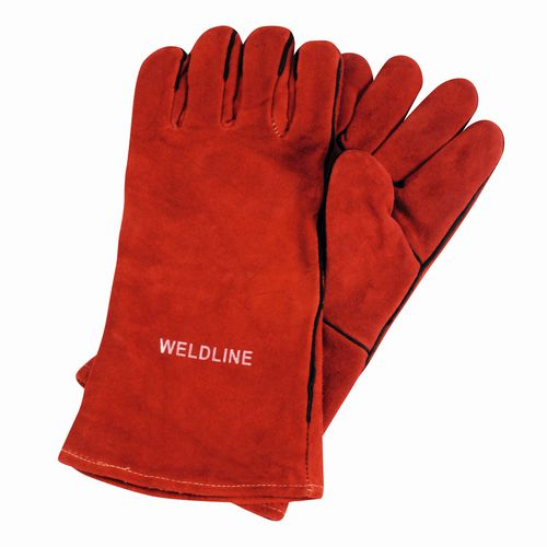 gant de soudage / de protection thermique / contre les arcs électriques / en cuir