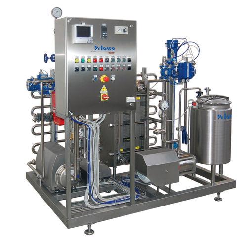 pasteurisateur pour l'industrie de la boisson / automatique / semi-automatique / compact