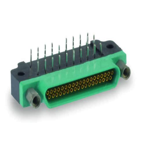 connecteur micro-D / jack / PCB / rectangulaire