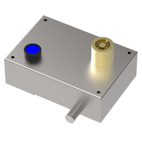 serrure à pêne / à clé / pour tableau électrique / en acier inoxydable