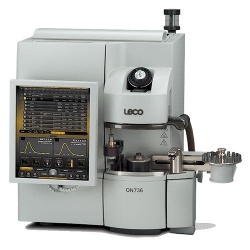 analyseur d'oxygène / d'azote / de métal / de gaz de combustion