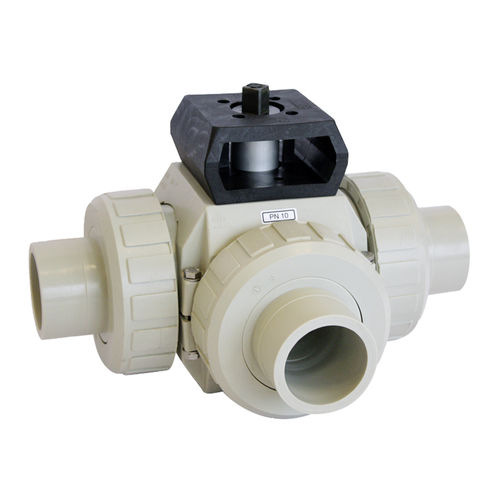 vanne à boisseau sphérique / électrique / pneumatique / pour eau potable