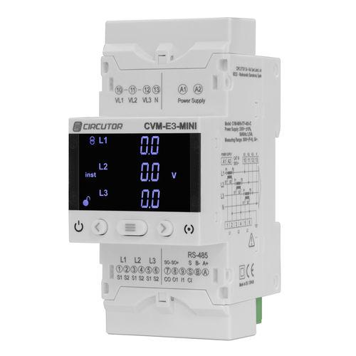 analyseur pour réseau électrique / de puissance / compact