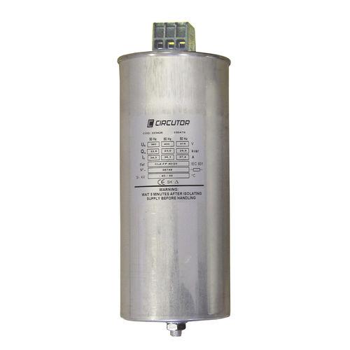 condensateur à film / encapsulé / de puissance / triphasé