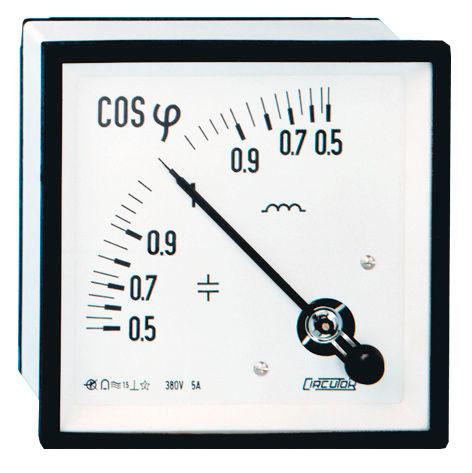 phasemètre analogique