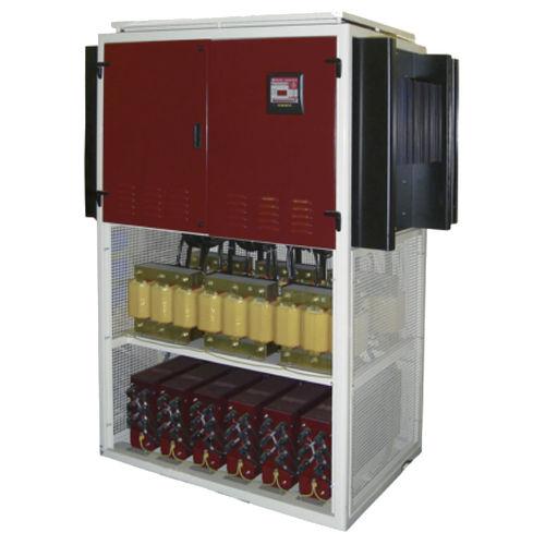 batterie de condensateurs automatique / basse tension / avec inductances anti-harmoniques