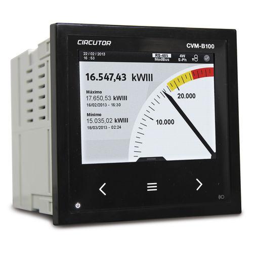 analyseur pour réseau électrique / de puissance / à intégrer / haute performance