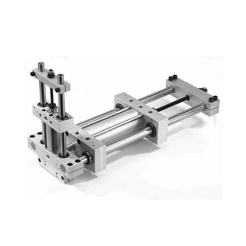 guidage linéaire à roulement à billes / en acier / pneumatique / de précision