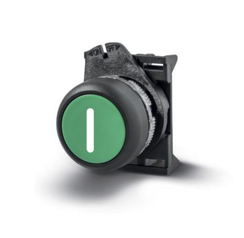 bouton poussoir rotatif