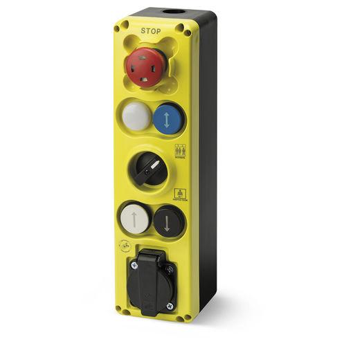boîte à boutons à 6 boutons