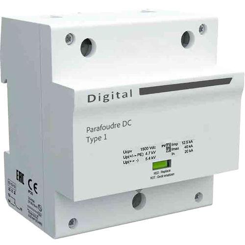 parafoudre de type 1 / multipolaire / sur rail DIN / DC