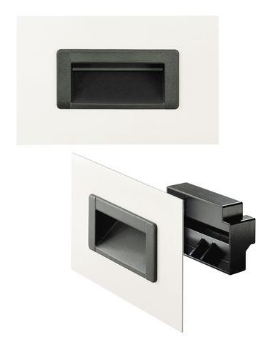 poignée cuvette / pour porte / en plastique / ergonomique