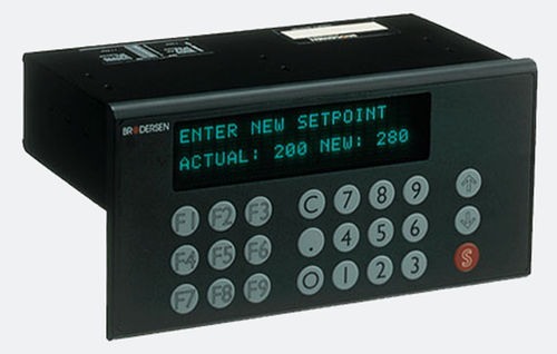 terminal opérateur avec clavier