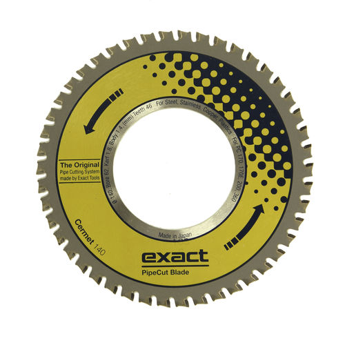 lame de scie circulaire / en acier / pour métal / pour acier