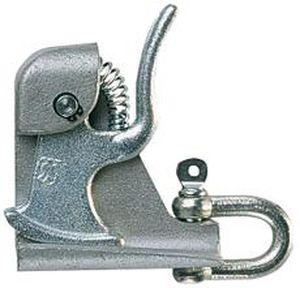 grenouillère en acier / à ressort / à levier / avec fixation constante