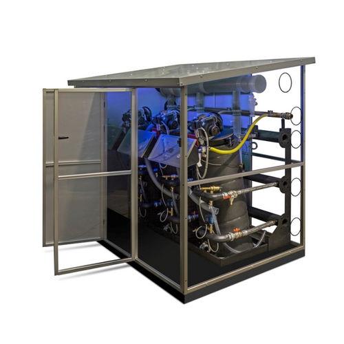 chaudière d'eau chaude / à gaz / à tubes de fumée / à condensation