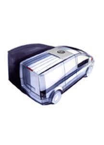 groupe frigorifique mobile / pour véhicule utilitaire léger / sur poulie-moteur