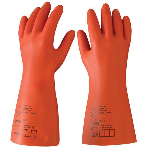 gant de laboratoire / isolant / en cuir