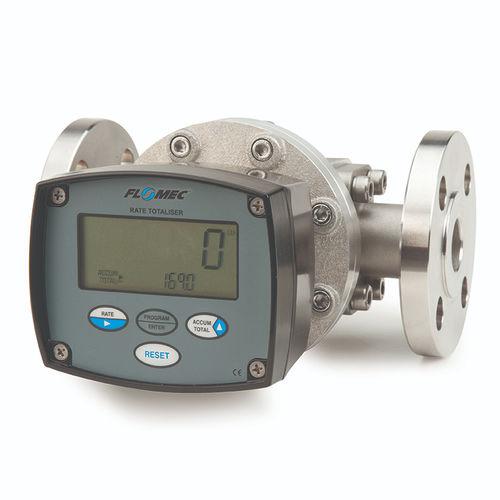 débitmètre numérique / pour huile / pour carburant / pour produits chimiques