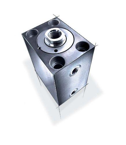 vérin hydraulique / double effet / compact / de bloc