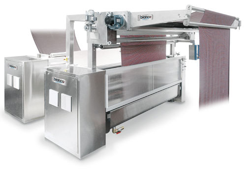 presse hydraulique / à compression / verticale / pour textiles