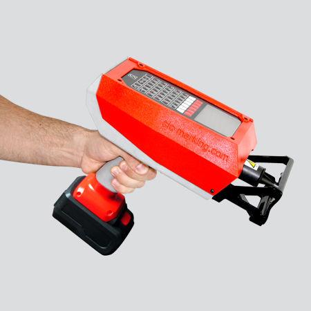 machine de marquage par micro-percussion / portable / sur batterie