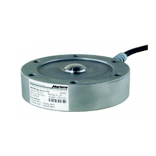 capteur de force type bouton / en acier / pour réservoir / de pesage
