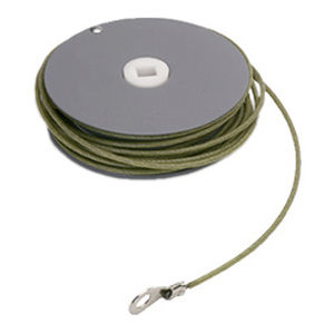 enrouleur de câbles / à rappel automatique / fixe / pour chantier de construction
