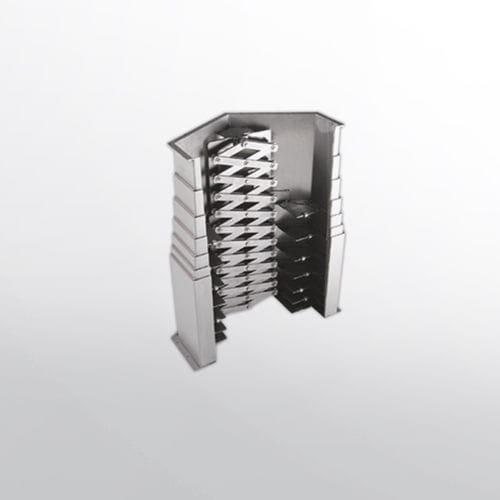 protecteur télescopique pour machine-outil
