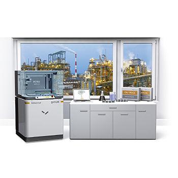 spectromètre à rayons X / pour l'industrie pétrochimique / à fluorescence X à dispersion d'énergie