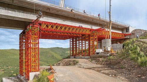 coffrage de travée de pont