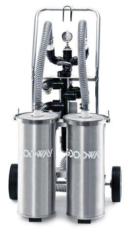 unité de filtration à cartouche / pour eaux usées