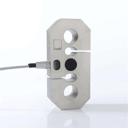 capteur de force de traction / en S / haute précision / en acier inoxydable
