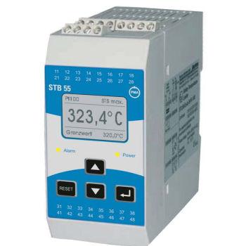 limiteur de température de sécurité / avec afficheur LCD / pour la supervision de process