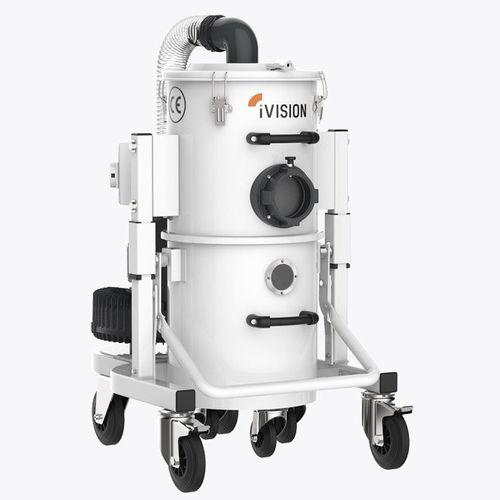 aspirateur à eau et poussière / triphasé / pour l'industrie de la plasturgie / pour l'usinage des métaux