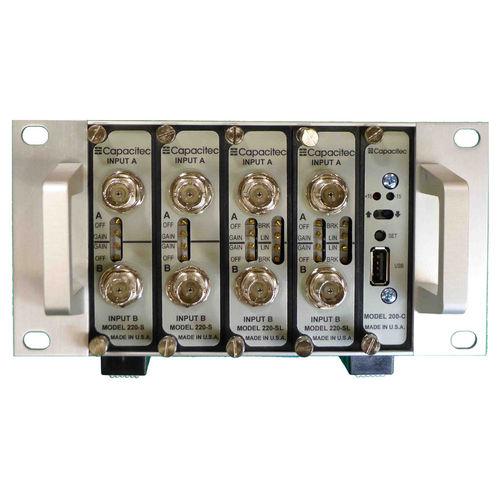 amplificateur de capacitance / de mesure / électronique / modulaire
