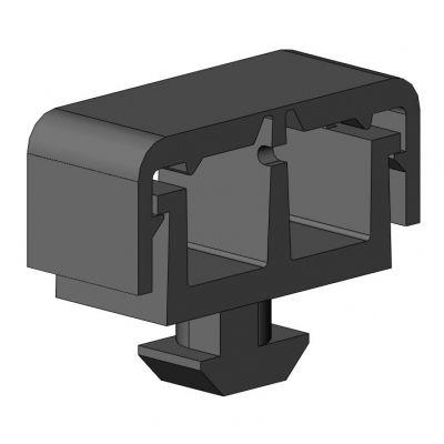 embase pour collier de serrage encliquetable / en polyamide