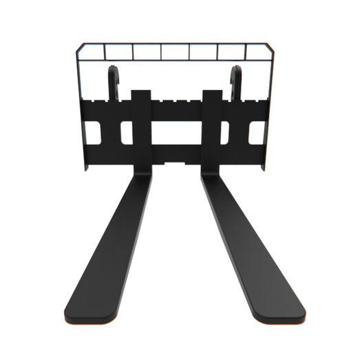 fourche réglable / pour chariot élévateur / de manutention / pour chargeuse compacte