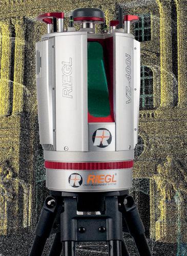scanner 3D / laser / Ethernet