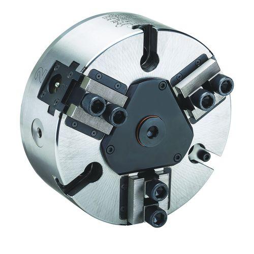 mandrin automatique / 3 mors / avec passage au centre / sans passage au centre